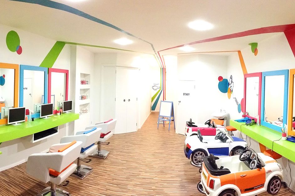 Shortcuts home for Childrens hair salon